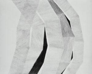 Luftraum VII Mischtechnik auf Papier 50x62 cm 2018