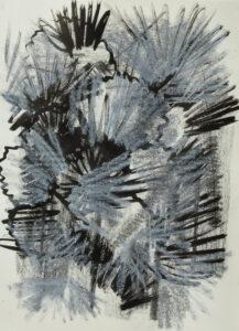 Ohne Titel Mischtechnik auf Papier 21x29,7 cm 2020