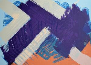 Ohne Titel Siebdruck 50x70 cm 2009