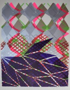 Ohne Titel Siebdruck 50x70 cm 2010