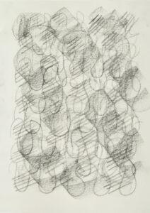 Ohne Titel Zeichenkohle auf Papier 21x29,7 cm 2020